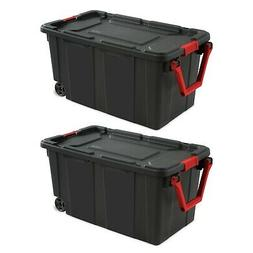 2 case of large storage box container