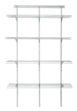 ClosetMaid 2845 4-Shelf Pantry Organizer - White