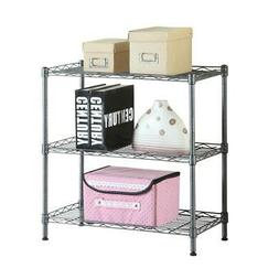 3 Tier Shelving Rack Shelf Adjustable Unit Garage Storage Or