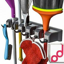 Berry Ave Broom Holder and Garden Tool Organizer for Rake or