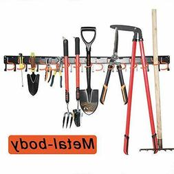 All Metal Garden Tool Organizer,Garage Organizer,Adjustable