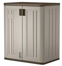 Outdoor Storage Utility Shed Resin Tool Cabinet Garden Patio