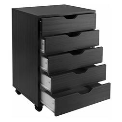 Halifax Cabinet for Closet - Office, 5 Drawers, White