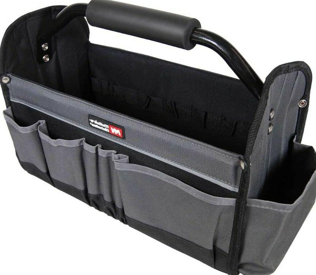 15 inch collapsible ultimate open tool tote