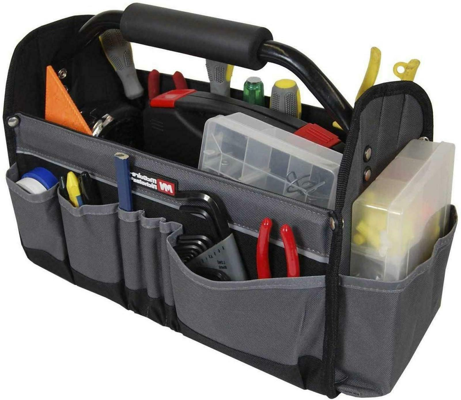 collapsible tool tote 15 inch workshop storage
