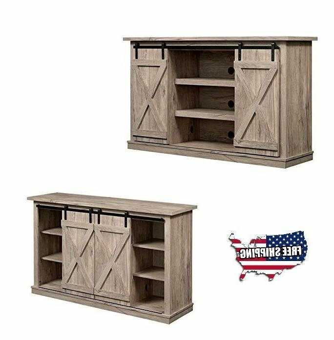 tv stand buffet cabinet table organizer sliding
