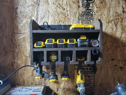 NEW Power Tool Organizer Charging Station Drill Holder Wall