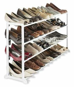 Shoes Storage Rack Organizer Floor Stackable Stand Portable